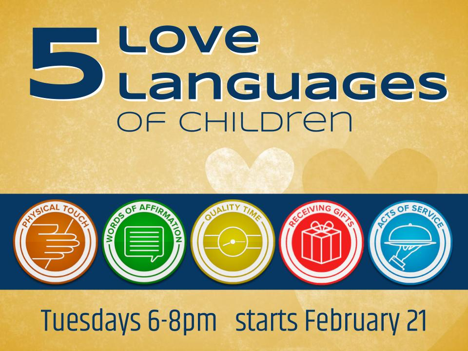 5 love languages for kids