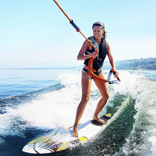Probably right before I bailed...🌊🏄 #BringBackTheMullet . Anyone else really bad at board sports? 🙋😂 . . Currently in Vancouver📍