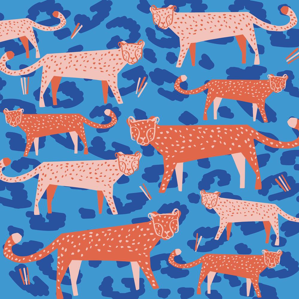 Cheetahs (detail)