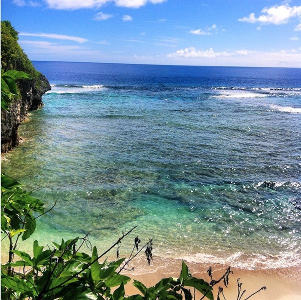 One of the views Shanny enjoys at her new home in Niue. Jealous? Yeah, us too.