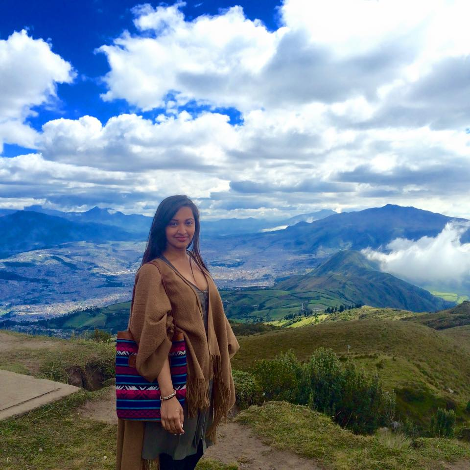 Maureen in Quito, Ecaudor in January 2015