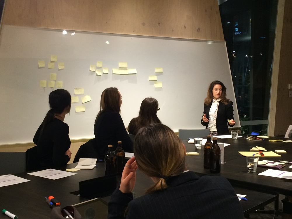One of The Dream Collective's Melbourne Think Tank sessions in action