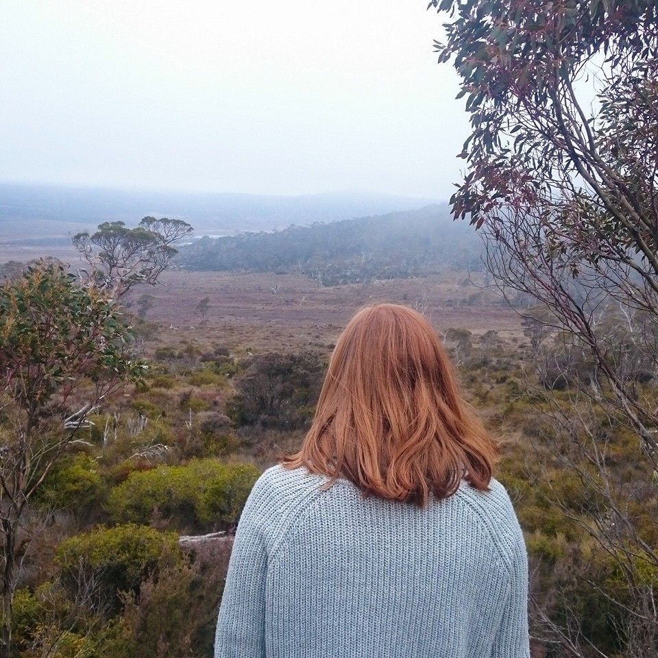 Mel at the Great Western Tiers Conservation Area, Tasmania, Australia
