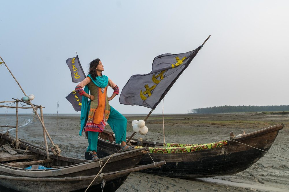 Being bold despite challenging amounts of patriarchy in Hatiya, Bangladesh