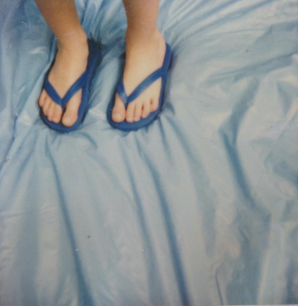 boy sandals kiddie pool polaroid jv.JPG