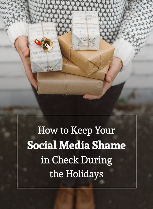 How to keep your social media shame in check during the holidays. - Iterate Social
