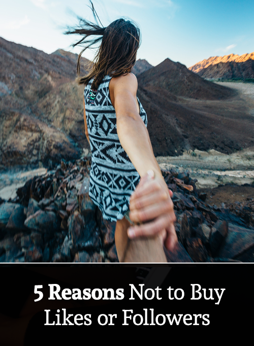 It can be tempting to buy followers. Here are 5 reasons why you shouldn't.