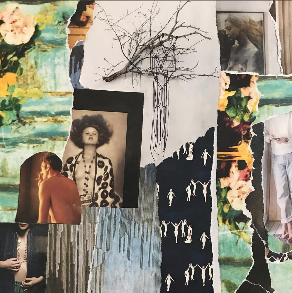 Sometimes I collage |  The Painter's Rehab