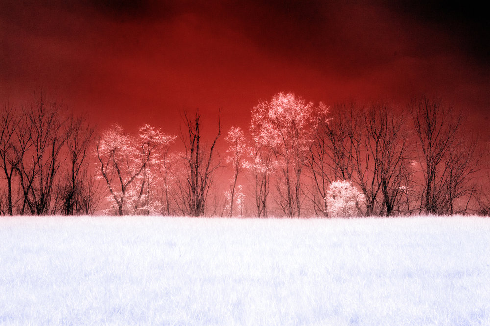 Infrared color conversion
