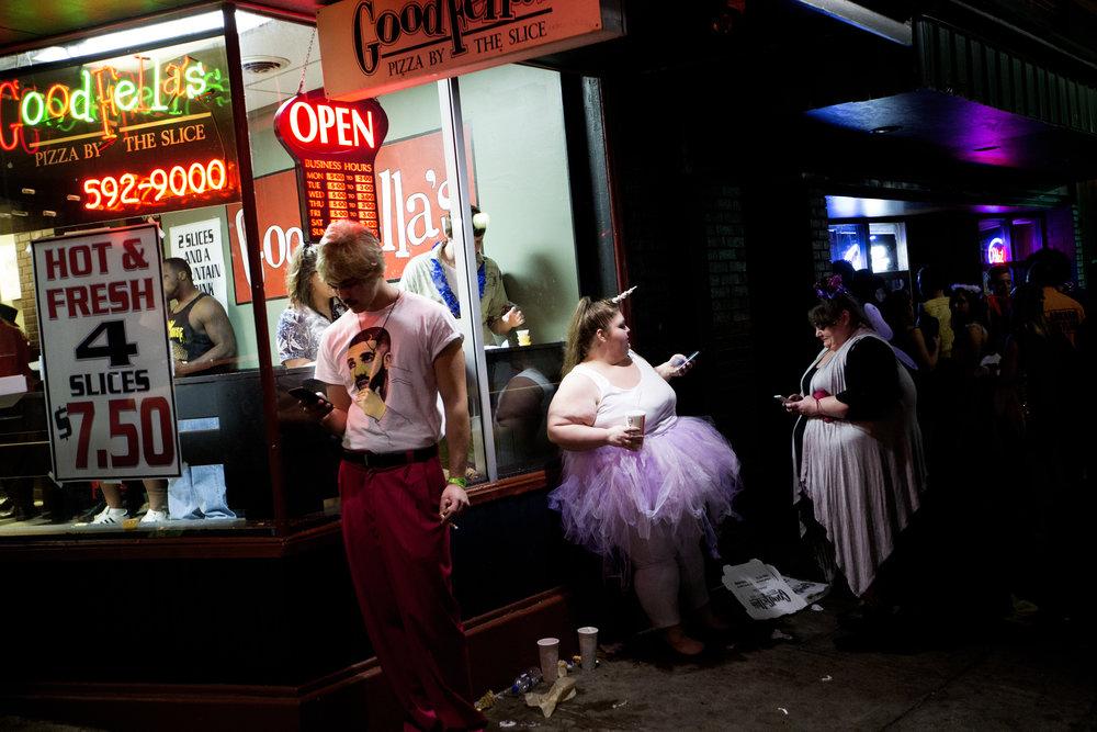 Athens Halloween Block party, 2016.