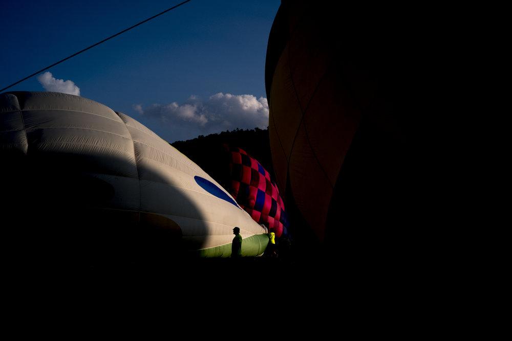 Townsend Balloon Festival. Townsend, Tenn. 2018.