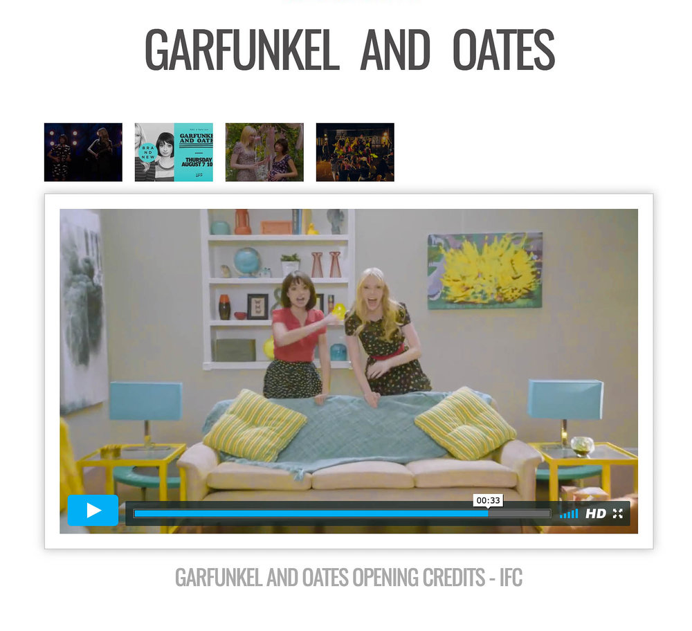 "Small version of ""Spring Ritual"" Backdrop for ""Garfunkel And Oats"" on IFC"