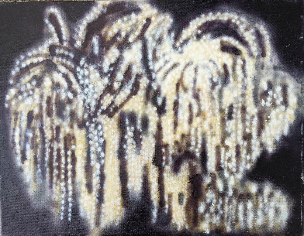 """Tivoli, Airbrush 11"""" x 14"""" 2012"""