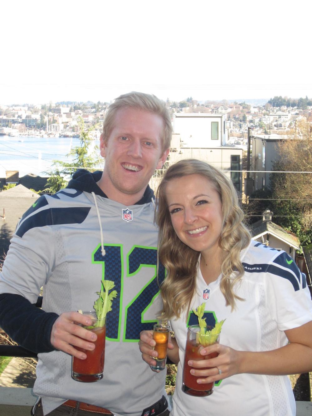 Super Bowl XLVIII (GO HAWKS!)