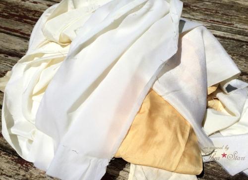 Vintage kimono linings.