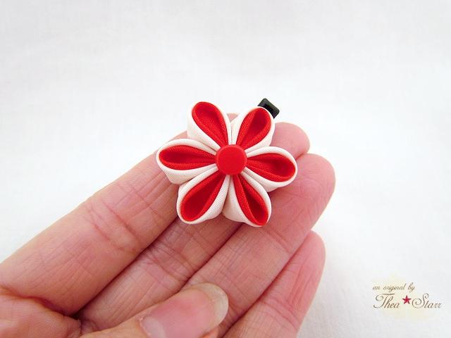Mini Kanzashi - Thea Starr