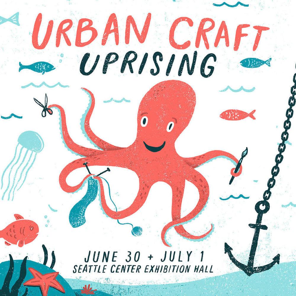 Urban Craft Uprising Summer 2018