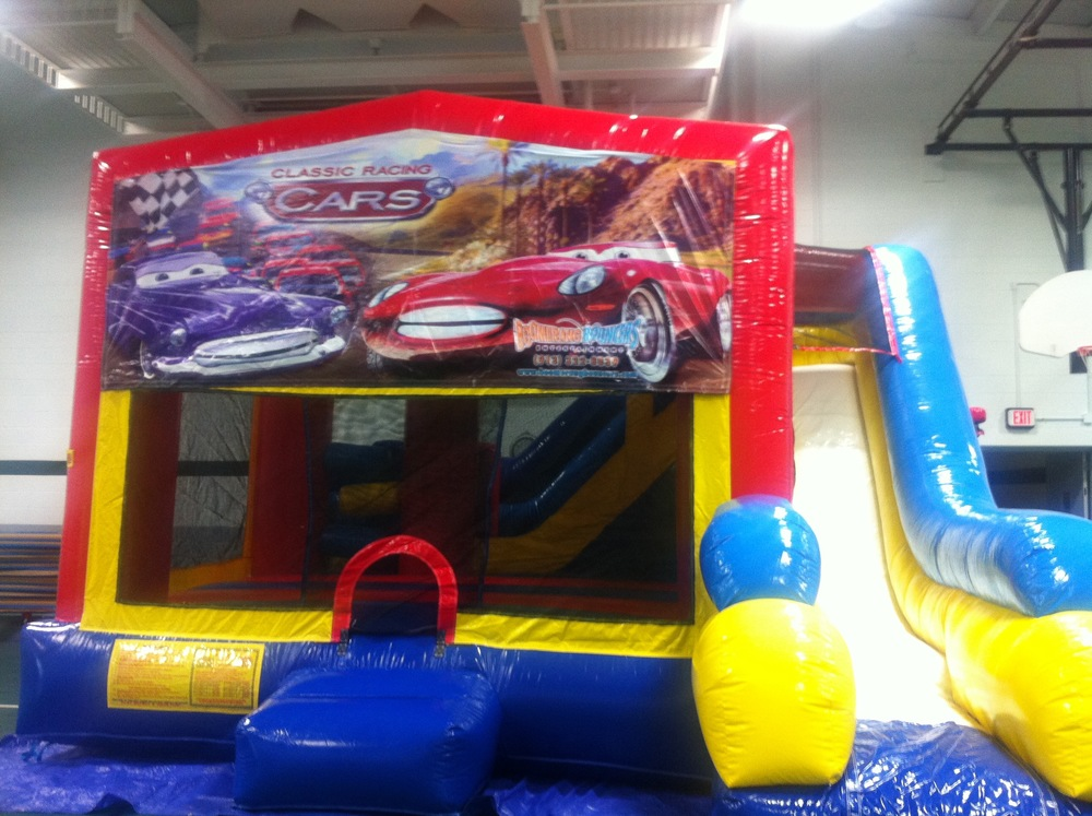 Cars 5-in-1 Combo Bouncer