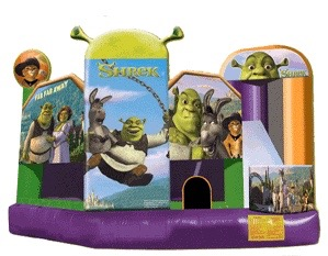 Shrek 5-in-1 Combo Bouncer