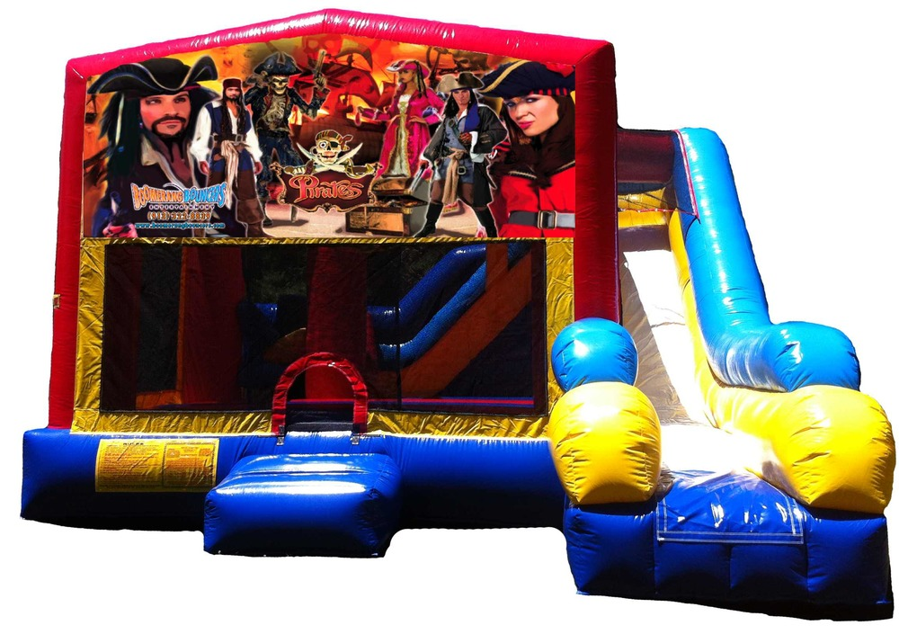 Pirates 5-in-1 Combo Bouncer