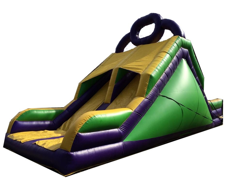 Rock Climb Obstacle Slide