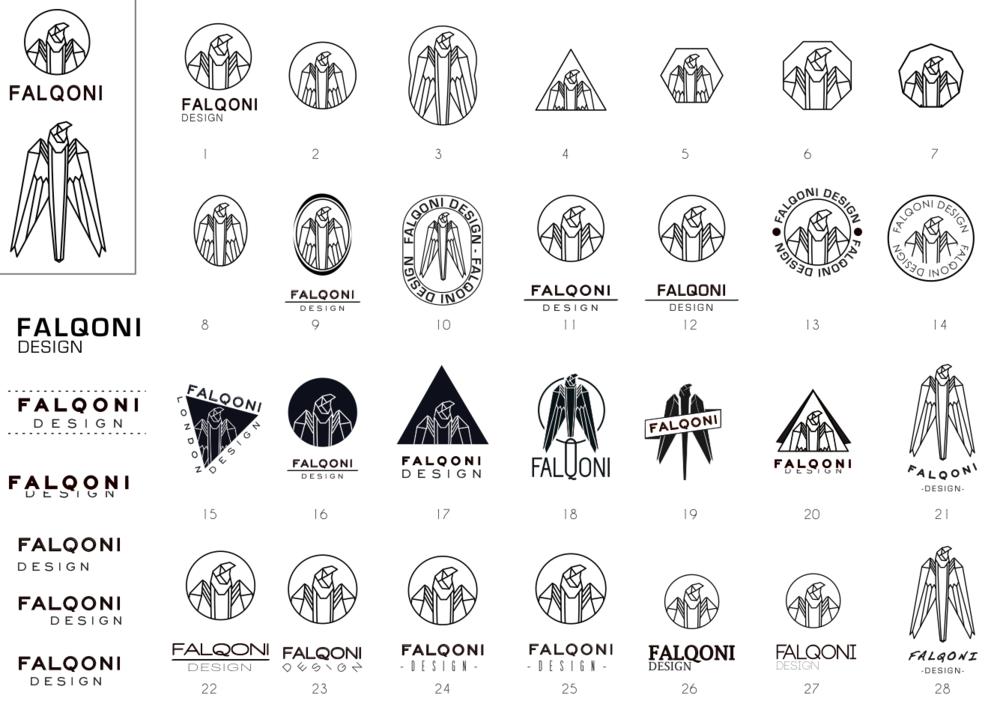 falqoni logo wip