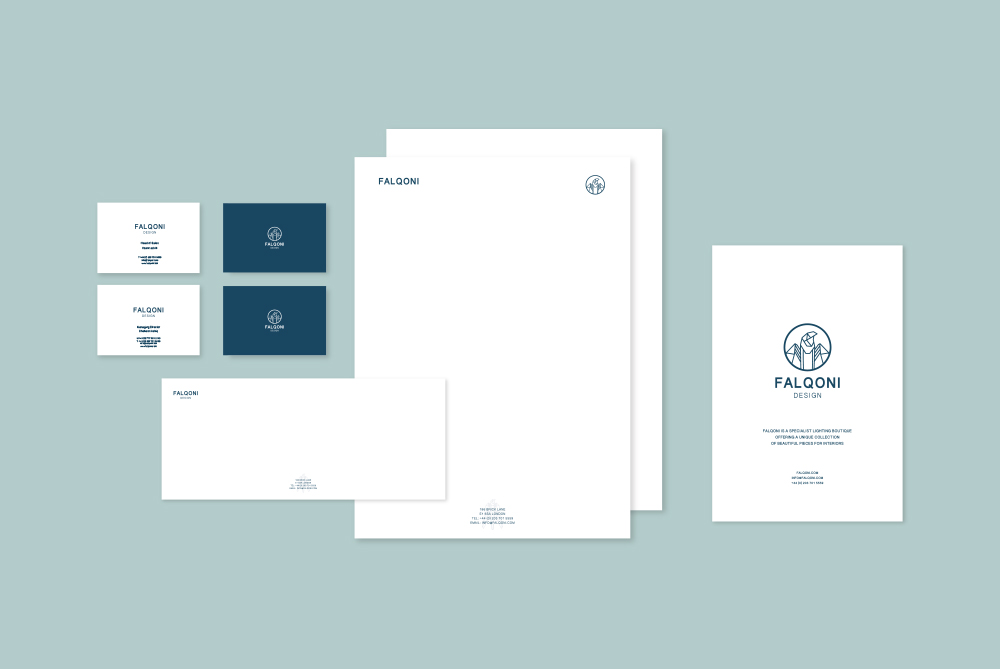Falqoni Stationary design