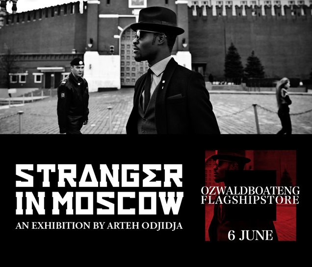 Stranger in Moscow by Arteh Creative and Ozwald Boateng