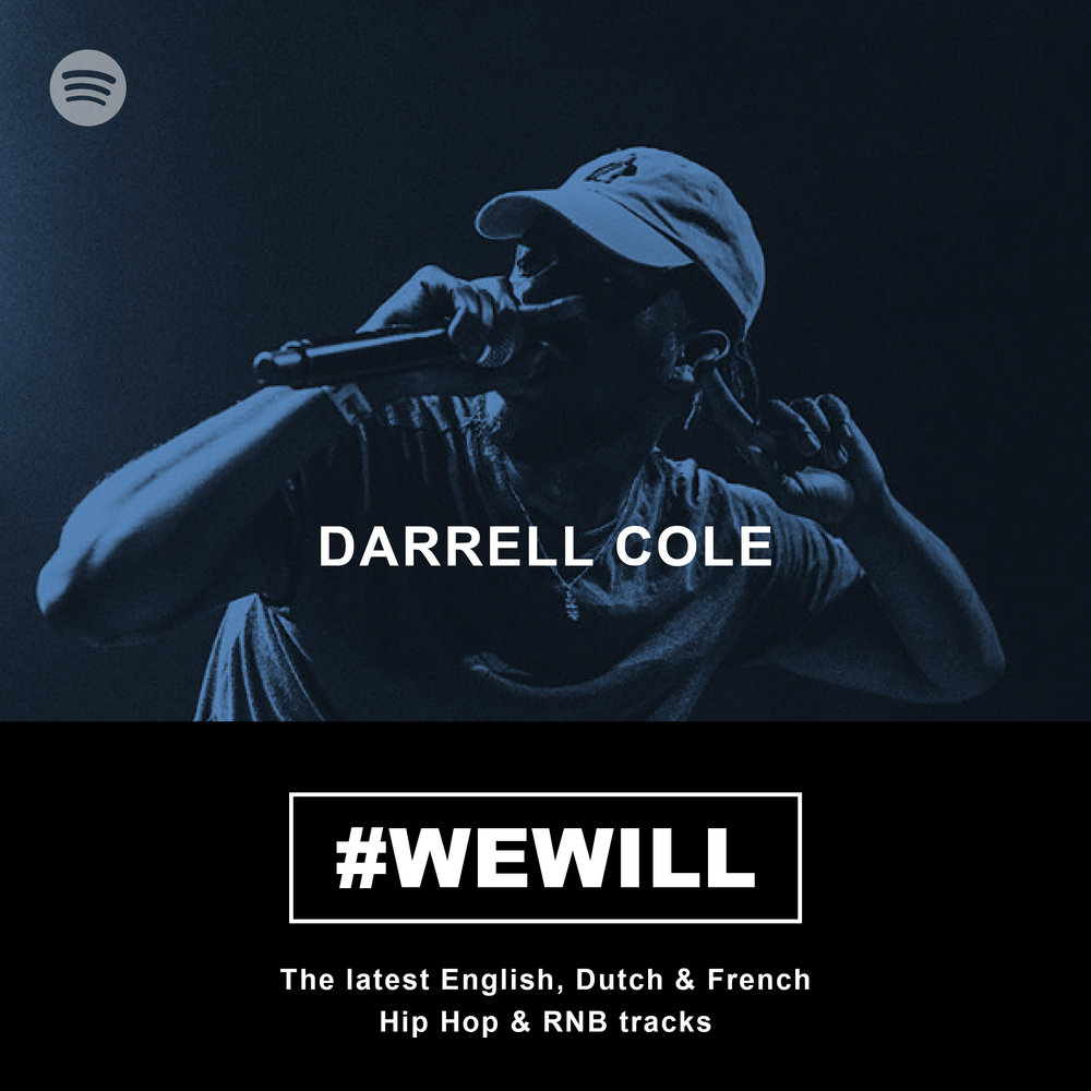Darrell-Cole-Spotify-playlist-wewill