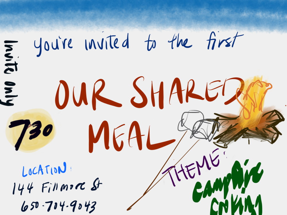 #oursharedmeal