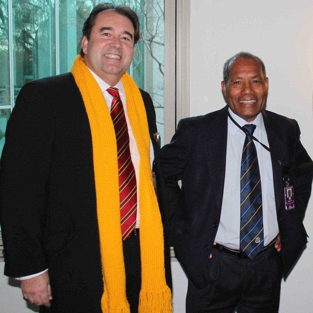 ATLBC President Mr. Denis Fernandez & Timor-Leste Ambassador to Australia H.E. Abel Guterres