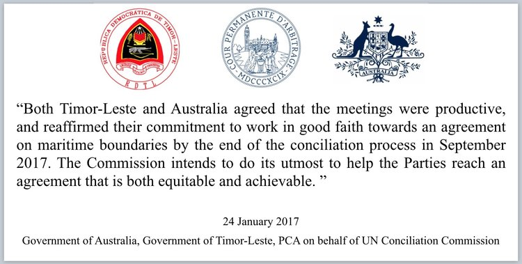 well hallelujah thanks to statements made this year by the two governments the issue has become simple and in turn our role as supporters of the timorese