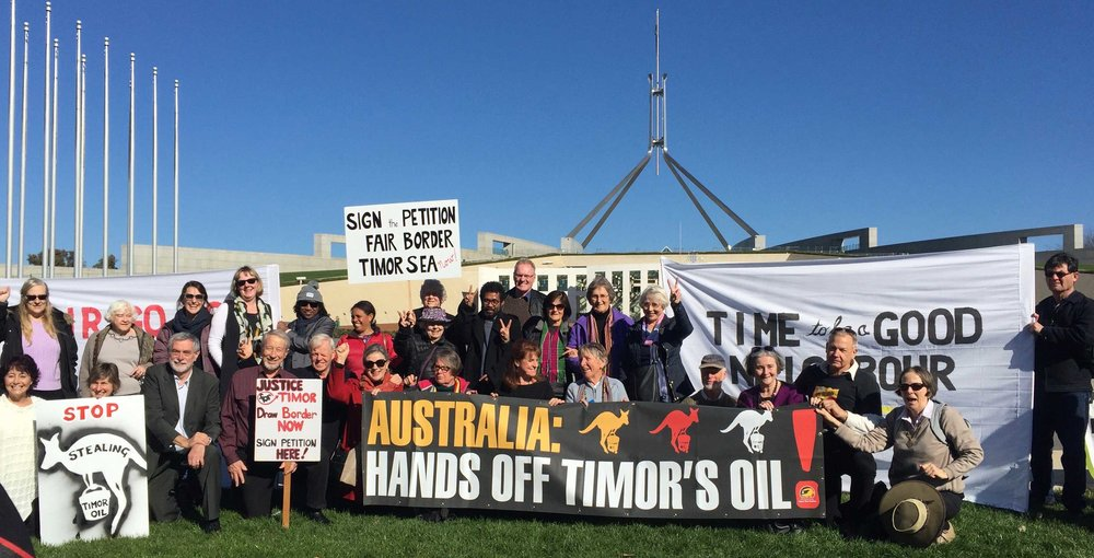 Some of those in Canberra drawing the line with Politicians