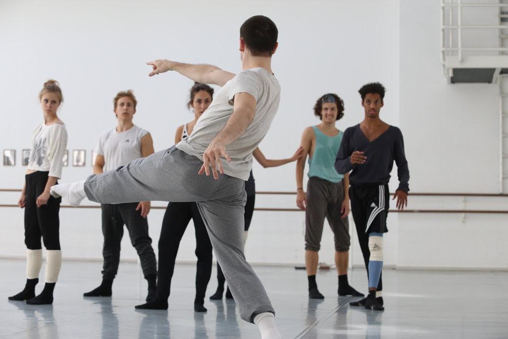 Rehearsal Royal Danish Ballet -