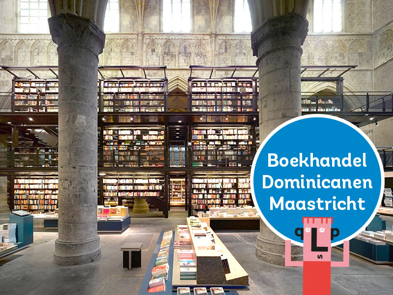MY LETTER FRIENDS IN ONE OF THE MOST BEAUTIFUL BOOKSHOPS OF THE WORLD!     Visit Boekhandel Dominicanen - Dominikanerkerkstraat 1