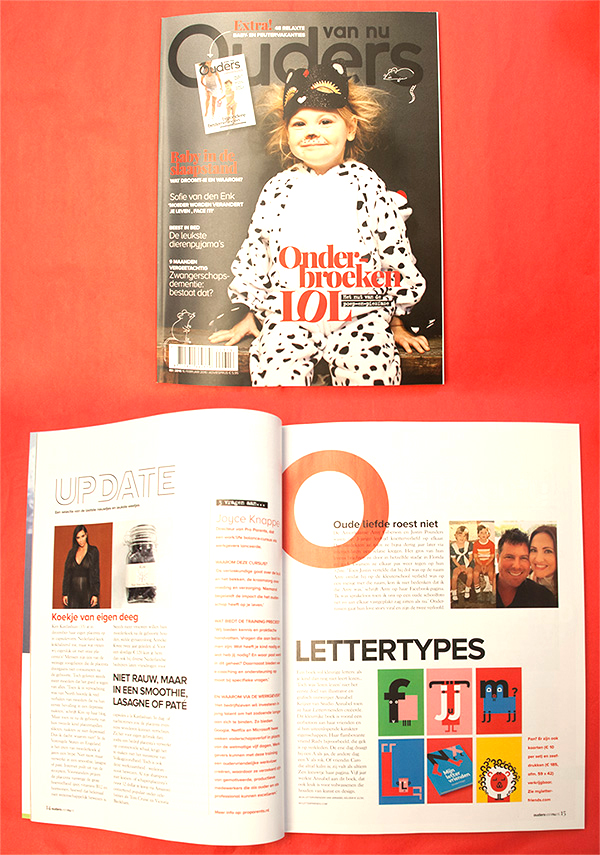 PUBLICATION Ouders Van Nu magazine march 2016