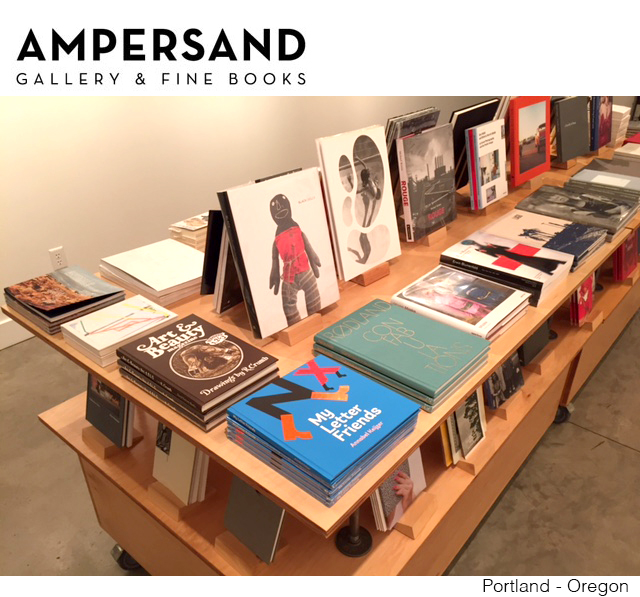 MY LETTER FRIENDS ARE STILL TRAVELING   Just arrived in the USA:  Proud that the book is featured at Ampersand Gallery Portland, Oregon. ampersandgallery