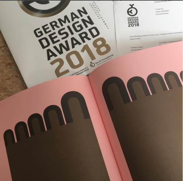 NOMINATION>   So proud to announce that I have been nominated for the German Design Award 2018 in the categorie excellent Communications design.
