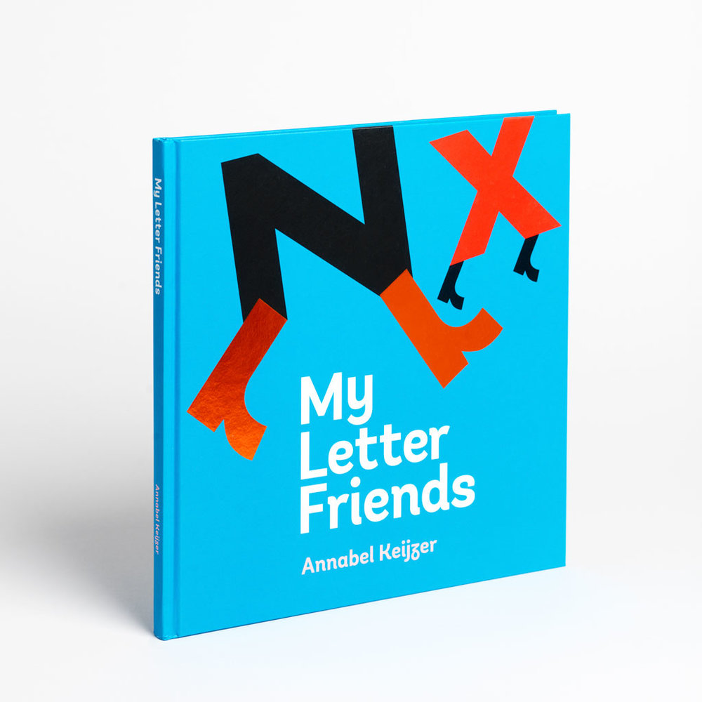 Type as image - Is it possible to tell a story without using text? My Letter Friends say yes.