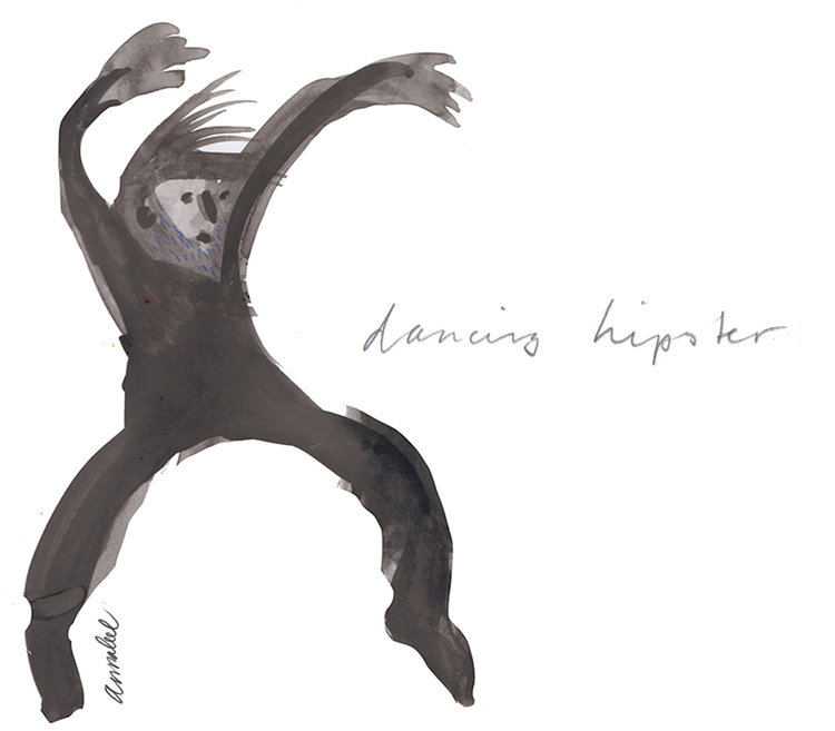 Ink drawings -