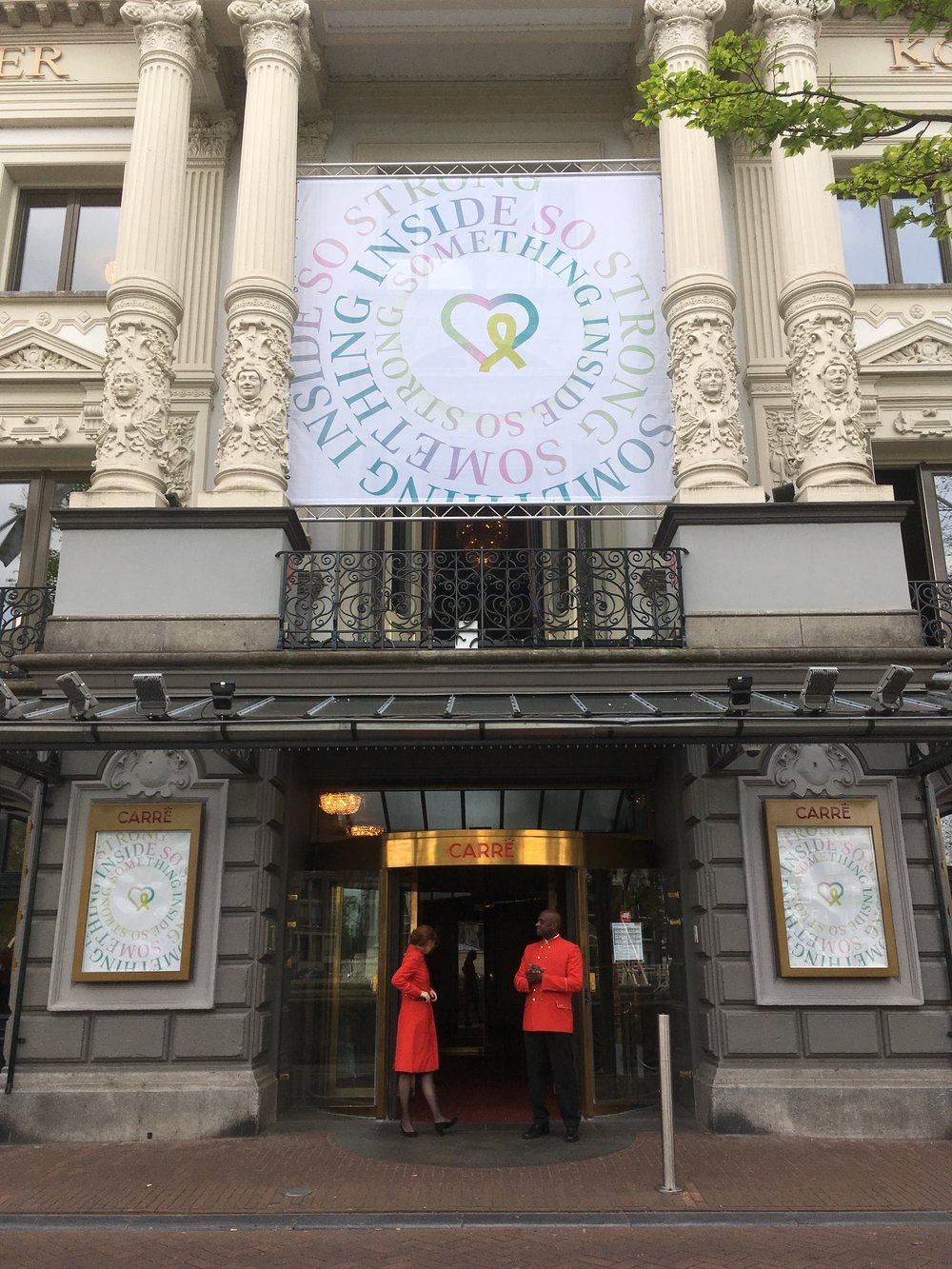 Branding & identity design - Identity for the International Lyme awareness congress at Carré Theatre Amsterdam.