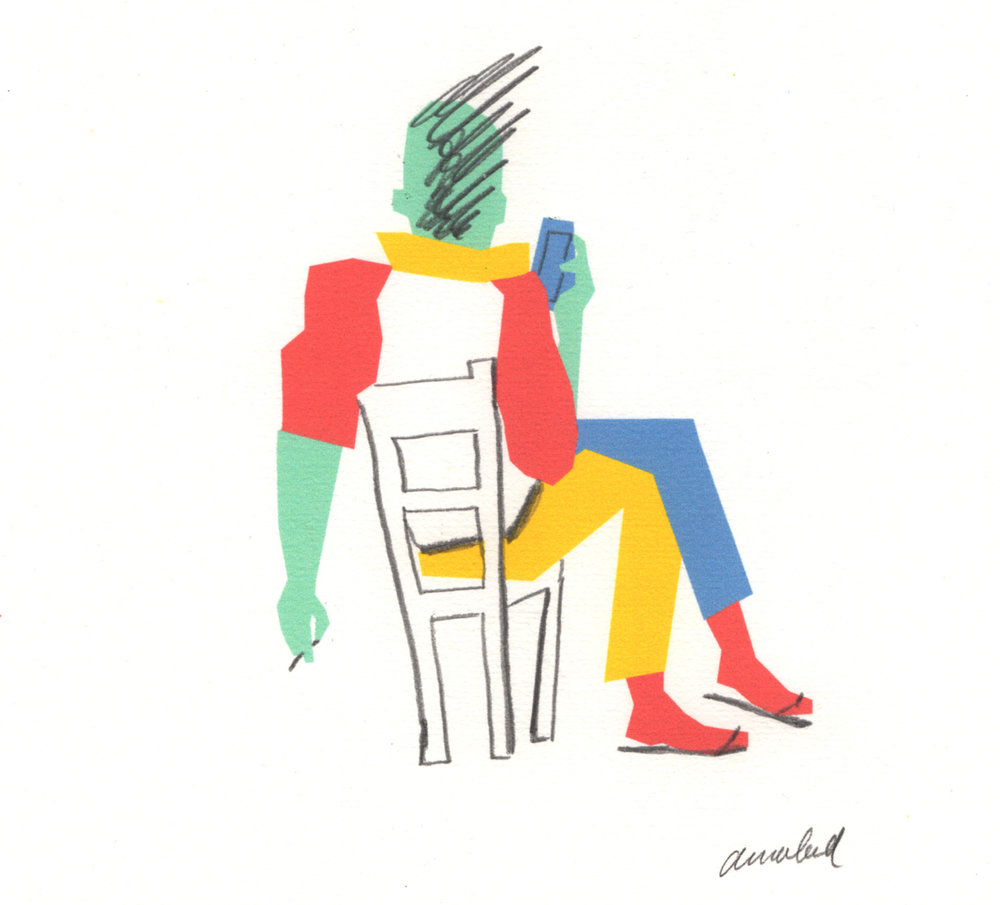 Multiple drawings - Annabel Keijzer is concentrating on editorial illustration, indoor and outdoor murals, textile design, bookillustration, artprints and other commissions, as long as she can retain her colourfullness and playfulness. Most of the drawings created digitally, on the basis of fast pencil drawings.
