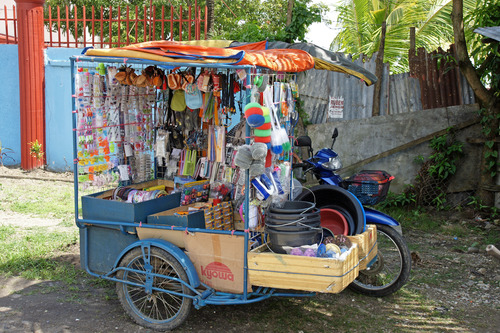 a typical Filipino 'rolling store'