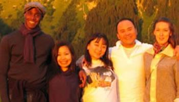 Ahmed Dickinson, Satoko Fukuda, Miho Sanou, Phuong Ngyen and Rosie Mayhew