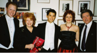 The first Concordia Foundation Fund prize winners at Wigmore Hall