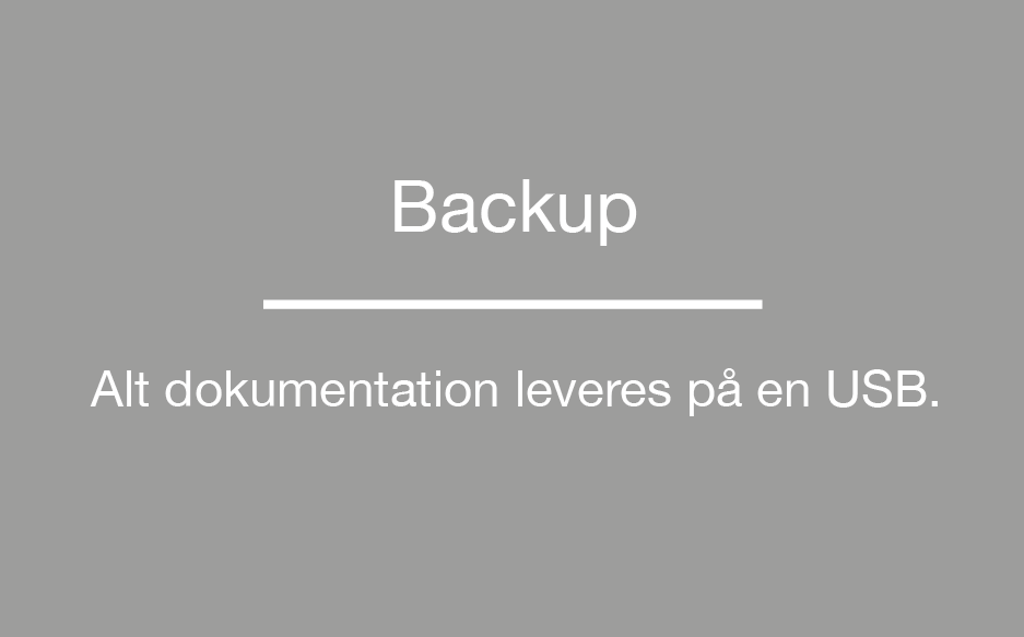 RIB Byggeweb Dokumentation Backup