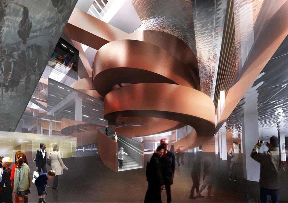 EXPERIMENTARIUM 26.850 m2 | 2014-2017 | Ca. 400 mio. kr. Arkitekt: CEBRA | Ingeniør: Orbicon