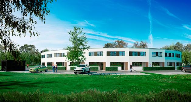 SKØDSTRUPBAKKEN | ALMENBO AARHUS 5.559 m2 | 2017 | Ca. 60 mio. kr. Arkitekt: Luplau & Poulsen