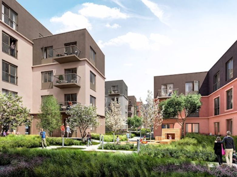 SCHERFIG HUS | CARLSBERG BYEN 104 lejligheder | 2015-2017 Arkitekt: Vagn Borlund | Ingeniør:Alectia