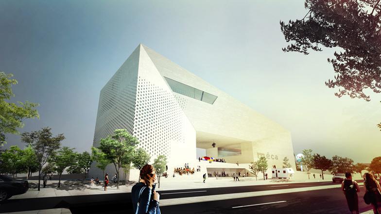 MECA | CULTURAL CENTER | BORDEAUX 12.350 m2 | 2017-2019 | 435 mio. kr. Arkitekt: BIG + FREAKS